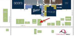 Ohio Valley Mall Map